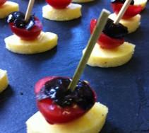 10 Polenta, tomate & olive noire