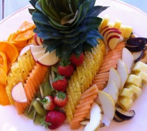 16 Assiette de fruits