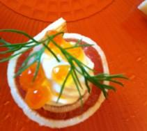 9 Crepe au saumon & aneth